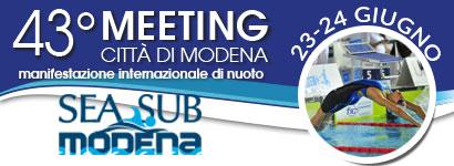 43° meeting internazionale Città di Modena